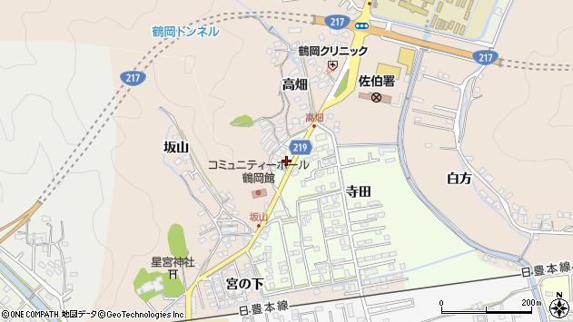 大分県佐伯市鶴望2615周辺の地図