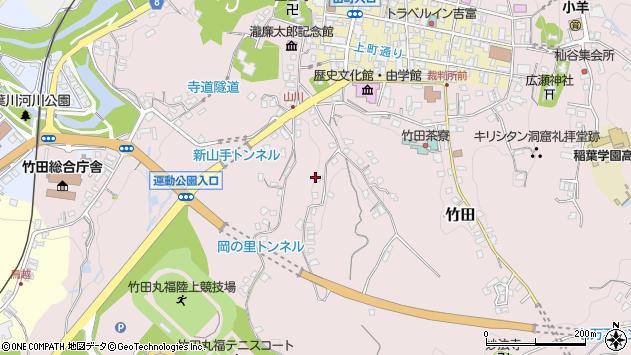 大分県竹田市竹田2252周辺の地図