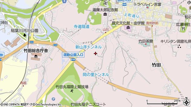 大分県竹田市竹田2190周辺の地図