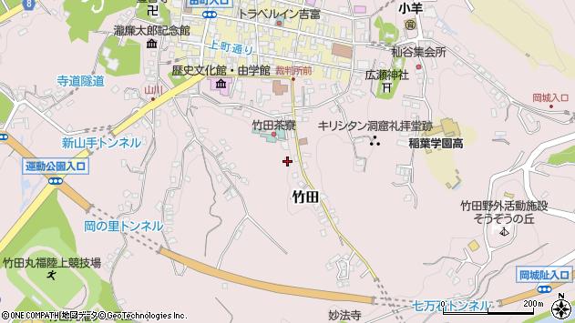 大分県竹田市竹田2425周辺の地図