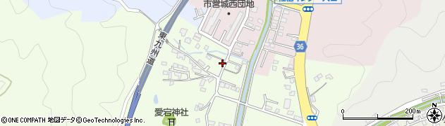 大分県佐伯市稲垣117周辺の地図