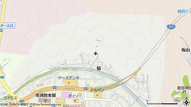 大分県佐伯市鶴望1055周辺の地図