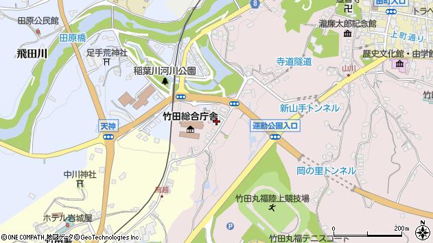 大分県竹田市竹田1518周辺の地図