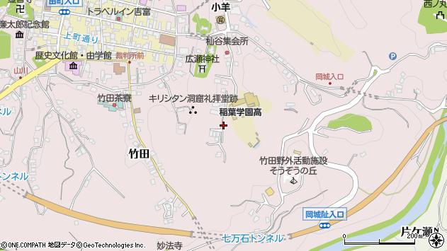 大分県竹田市竹田2514周辺の地図