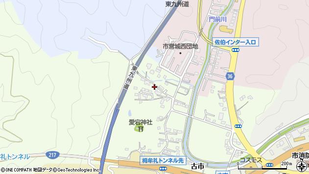大分県佐伯市稲垣145周辺の地図