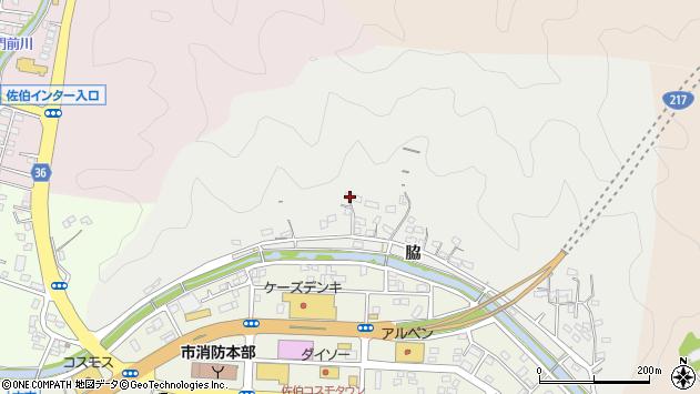 大分県佐伯市鶴望1086周辺の地図