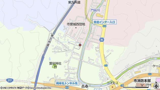 大分県佐伯市稲垣121周辺の地図