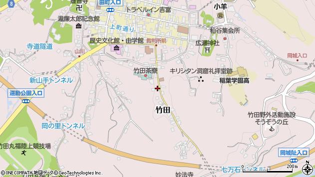 大分県竹田市竹田2424周辺の地図
