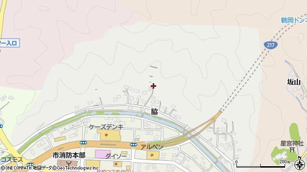 大分県佐伯市鶴望1053周辺の地図