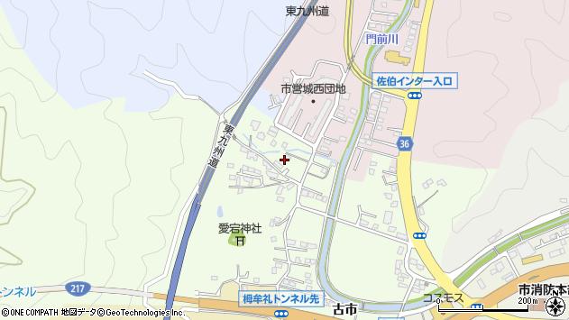 大分県佐伯市稲垣114周辺の地図