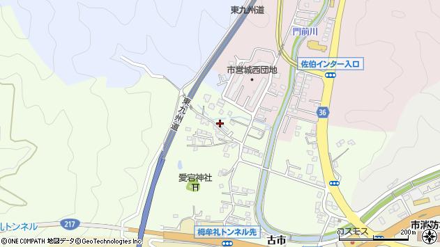 大分県佐伯市稲垣144周辺の地図