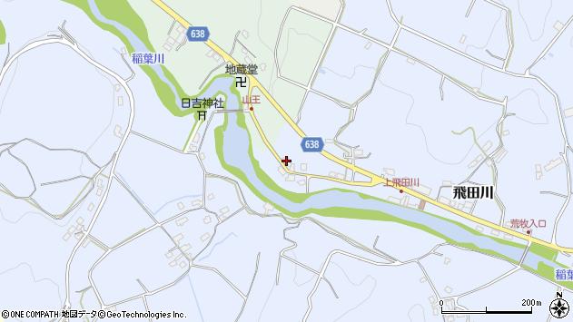 大分県竹田市飛田川2672周辺の地図