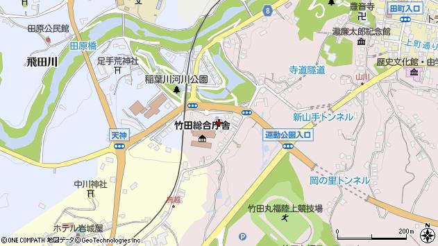 大分県竹田市飛田川1690周辺の地図