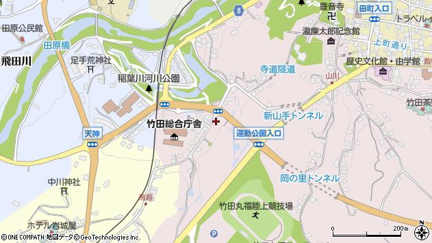 大分県竹田市竹田1524周辺の地図