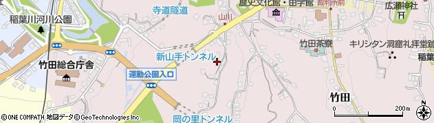 大分県竹田市竹田2182周辺の地図