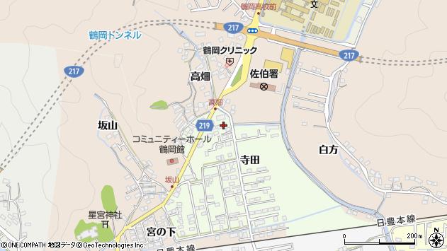 大分県佐伯市鶴望2622周辺の地図