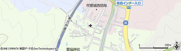 大分県佐伯市稲垣103周辺の地図