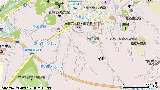 大分県竹田市竹田2407周辺の地図