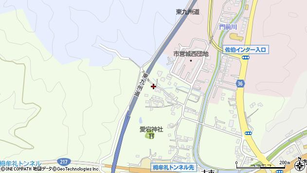 大分県佐伯市稲垣158周辺の地図