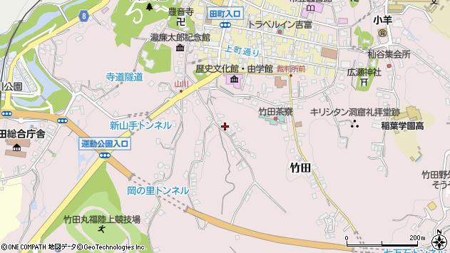 大分県竹田市竹田2410周辺の地図