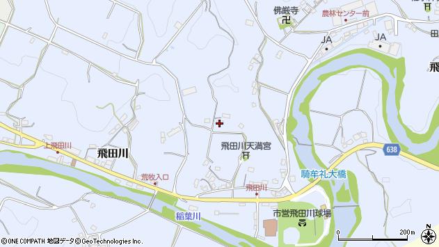 大分県竹田市飛田川2353周辺の地図