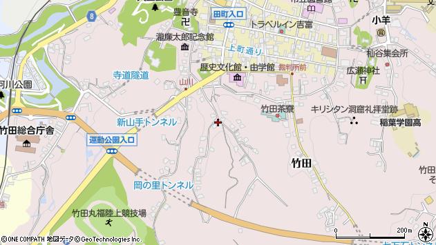 大分県竹田市竹田2327周辺の地図