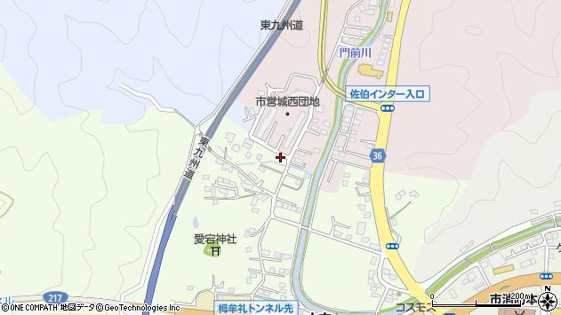 大分県佐伯市稲垣111周辺の地図