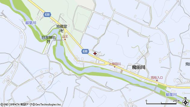 大分県竹田市飛田川2647周辺の地図