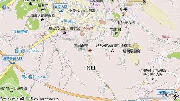 大分県竹田市竹田2059周辺の地図