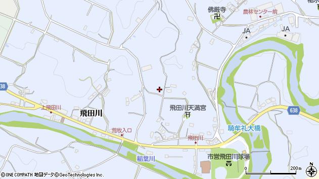 大分県竹田市飛田川2380周辺の地図