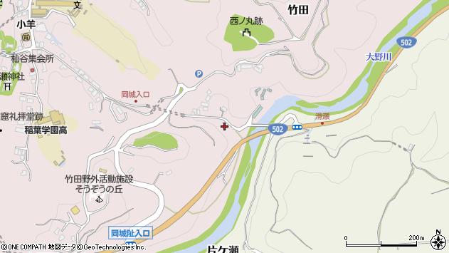 大分県竹田市竹田318周辺の地図