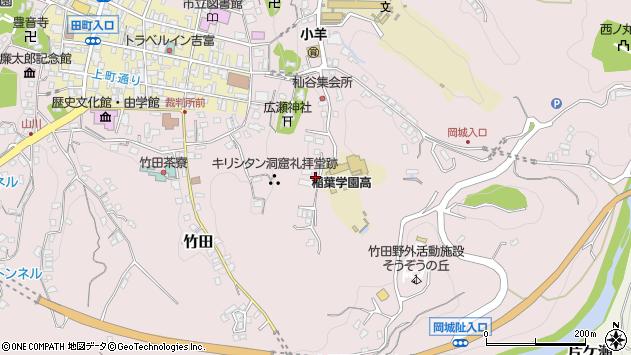 大分県竹田市竹田2498周辺の地図