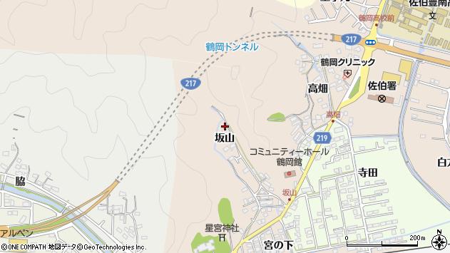 大分県佐伯市鶴望2496周辺の地図