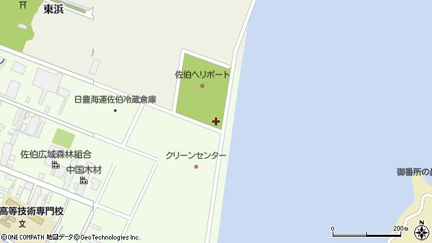 大分県佐伯市東浜10897周辺の地図