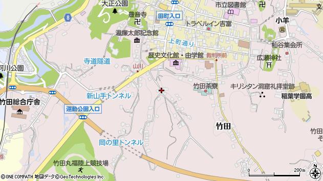 大分県竹田市竹田2412周辺の地図