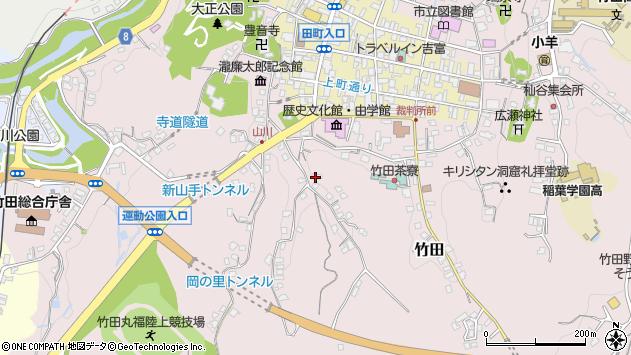 大分県竹田市竹田2413周辺の地図