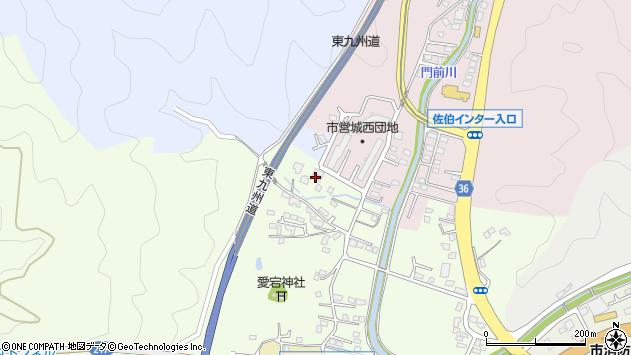 大分県佐伯市稲垣101周辺の地図