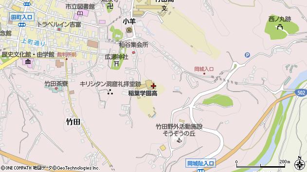 大分県竹田市竹田2503周辺の地図