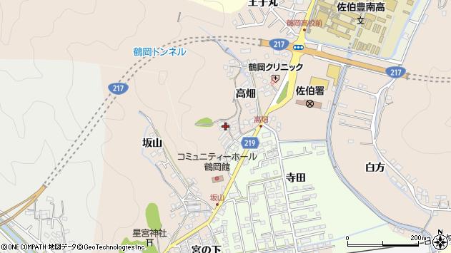 大分県佐伯市鶴望2645周辺の地図