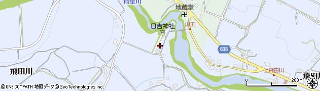 大分県竹田市飛田川607周辺の地図