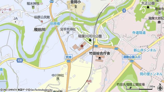 大分県竹田市飛田川1618周辺の地図