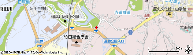 大分県竹田市竹田1537周辺の地図