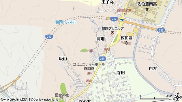 大分県佐伯市鶴望2649周辺の地図