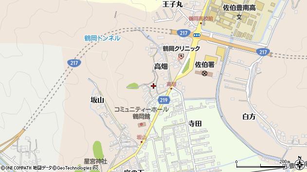 大分県佐伯市鶴望2646周辺の地図