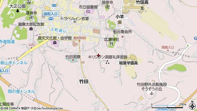 大分県竹田市竹田2042周辺の地図