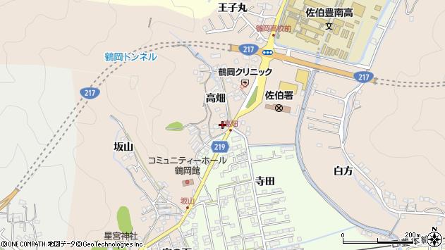 大分県佐伯市鶴望2719周辺の地図