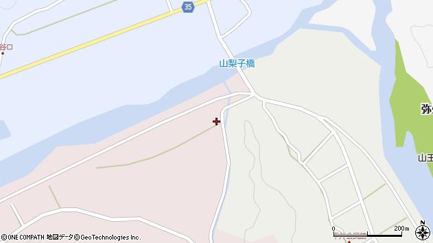 大分県佐伯市弥生大字細田1731周辺の地図