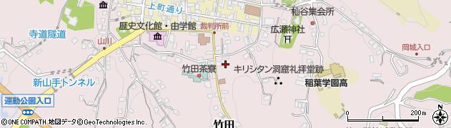 大分県竹田市竹田2058周辺の地図