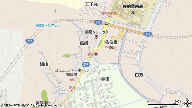 大分県佐伯市鶴望2810周辺の地図