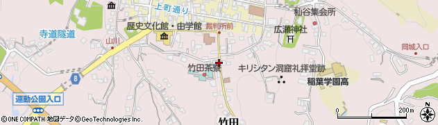 大分県竹田市竹田2061周辺の地図